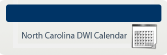 North Carolina DWI Calendar.